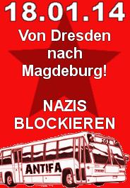 Mit dem Bus von Dresden nach Magdeburg!